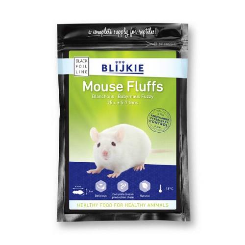 Mouse Fuzzy + hair (per 25 ) 5-7  gram