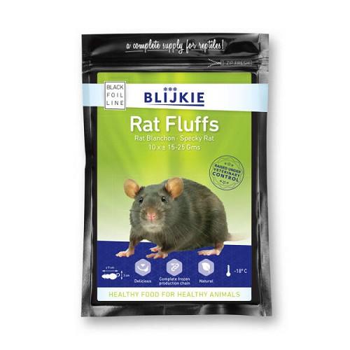 Fuzzy rat 12-25 gram per 10 verpakt