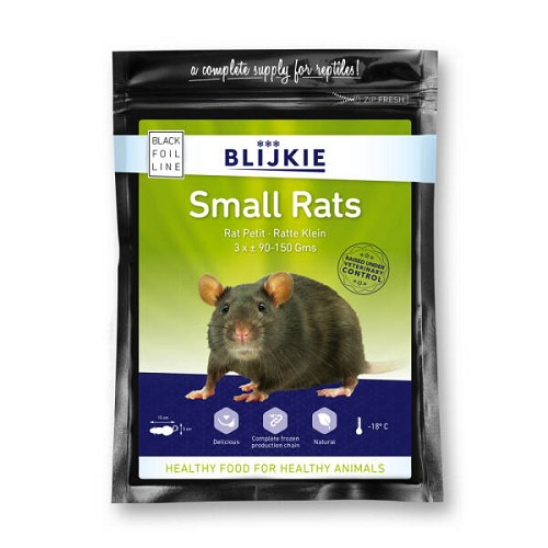Rat jeune surgelée (par 3 pièces X 90-150 gr.)